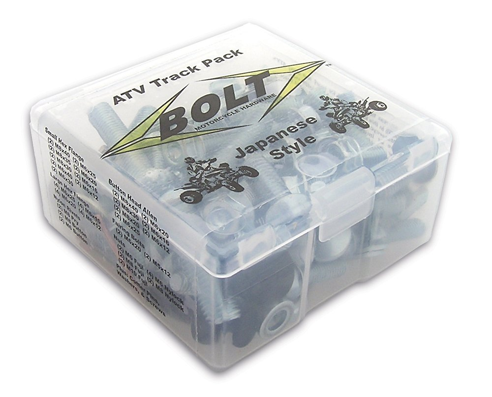 Bolt Motorcycle Hardware (98ATVTP) ATV Track Pack Hardware Kit