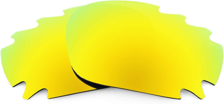 Revant Verres de Rechange pour Oakley Jawbone Vented - Compatibles avec les Lunettes de Soleil Oakley Jawbone Vented Or Mirrorshield - Polarisés