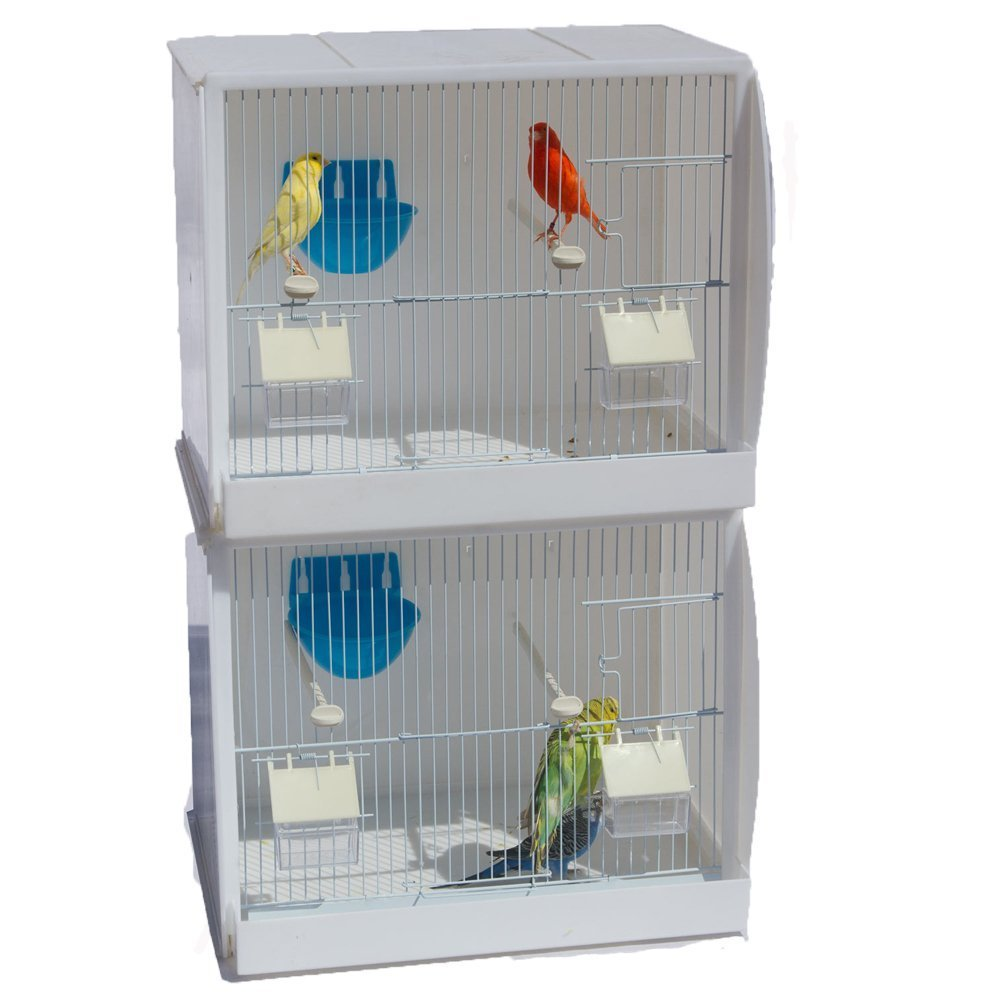 Kookaburra Cages Rowan Plastic Breeding cages for Finch, Budgie
