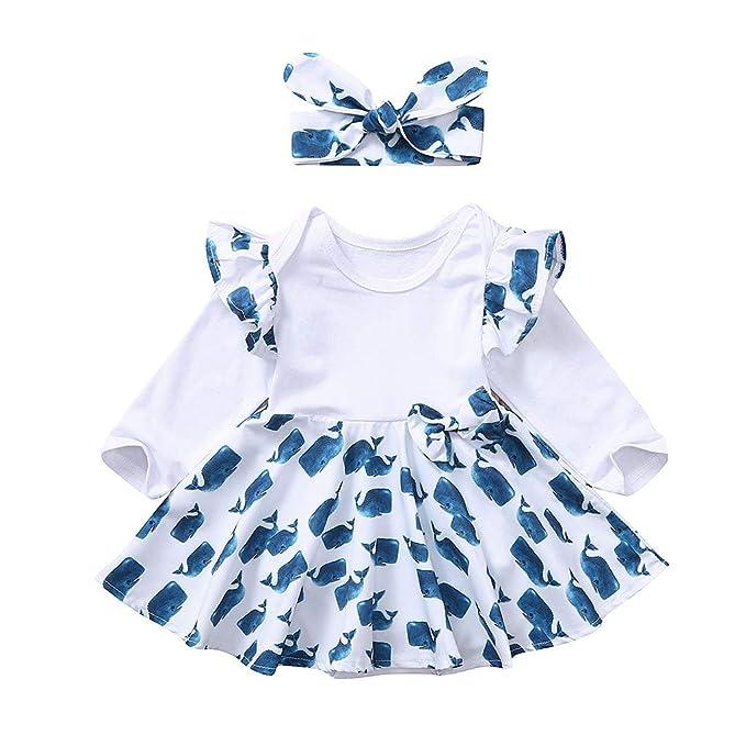 Vestidos a Cuadros con Volantes Fruncidos para niñas Bebes ...