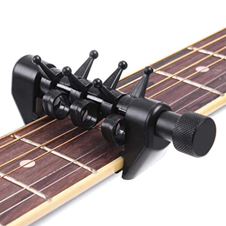 InvocBL - Afinador de cejilla Multifuncional para Cuerdas de Guitarra eléctrica acústica