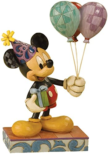Enesco Disney Traditions by Jim Shore 4013255 Mickey Mouse Birthday Celebration Figurine 8-3 4-Inch