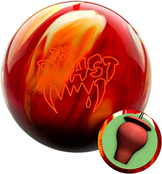 Columbia 300 Beast Cherry Gold White Bowling Ball