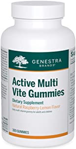 Genestra Brands - Active Multi Vite Gummies - Multivitamin Gummy Enhanced with an Organic Fruit Blend* - 100 Gummies