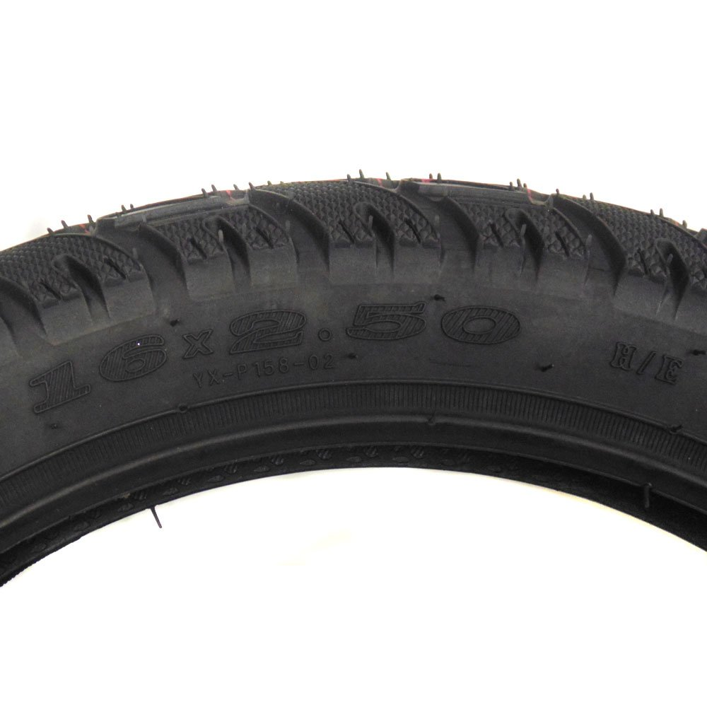 All-Terrain Tread 16x2.50 tire Fits Electric Bikes (e-bikes), Kids Bikes, Small BMX and Scooters by MMG (Image #4)
