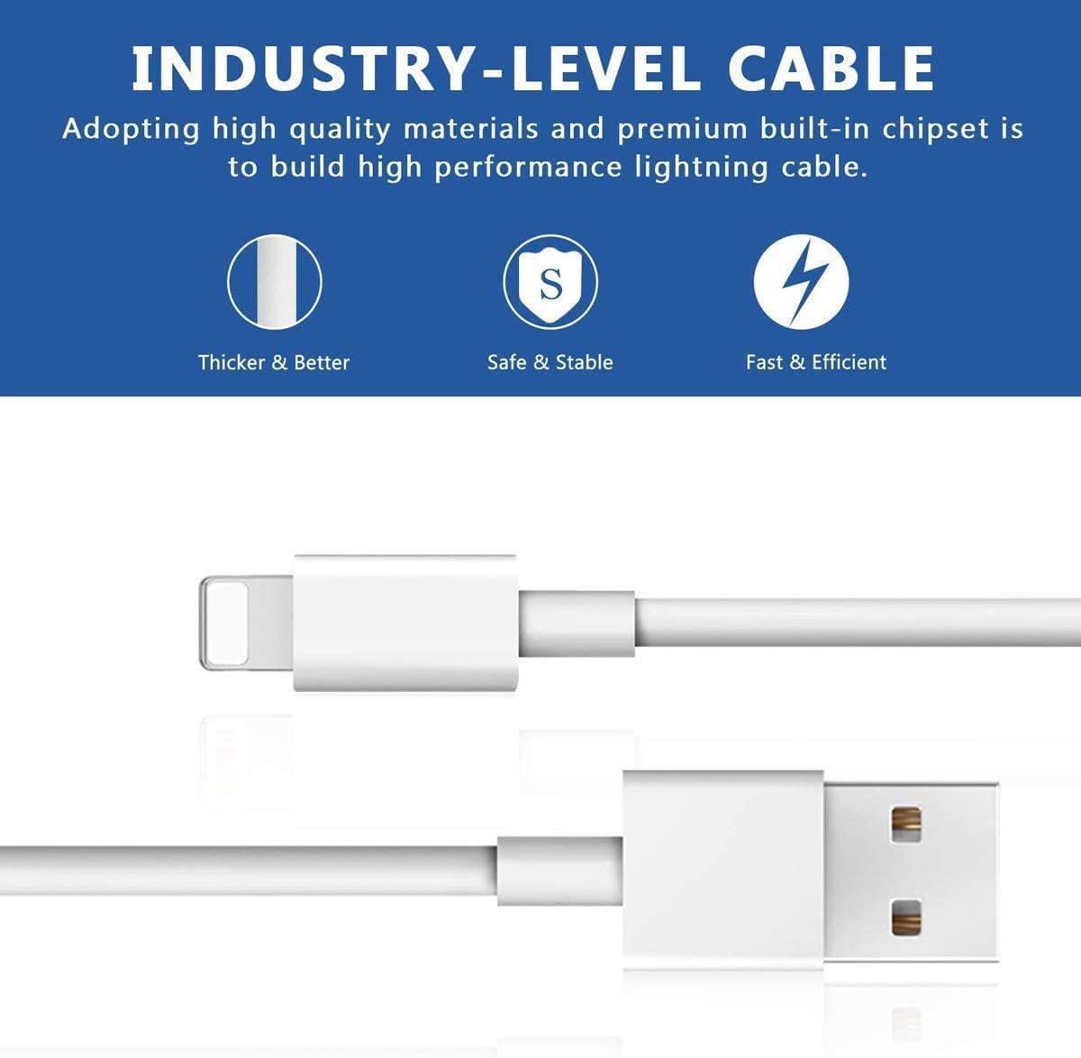 2M Phone Charger Extension Extra Long Syncing USB Cable 10 Pcs Power Data Lines Compatible with Phone XR XS MAX X 8 7 Plus 6s 6plus 5s 5c 5 se Durable Cords 10 Pack Charging Cables Luyishi 6FT