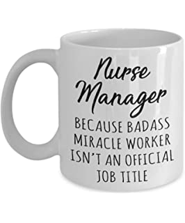 Gift For Nurse Manager