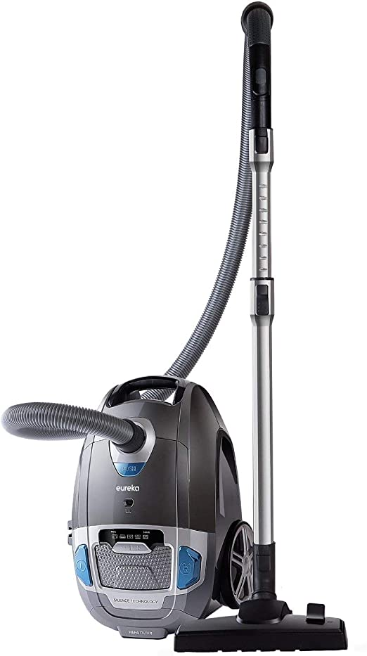 EUREKA S500 Vacuum Cleaner, Plastic, 700 W, 3 liters, GreyBlack