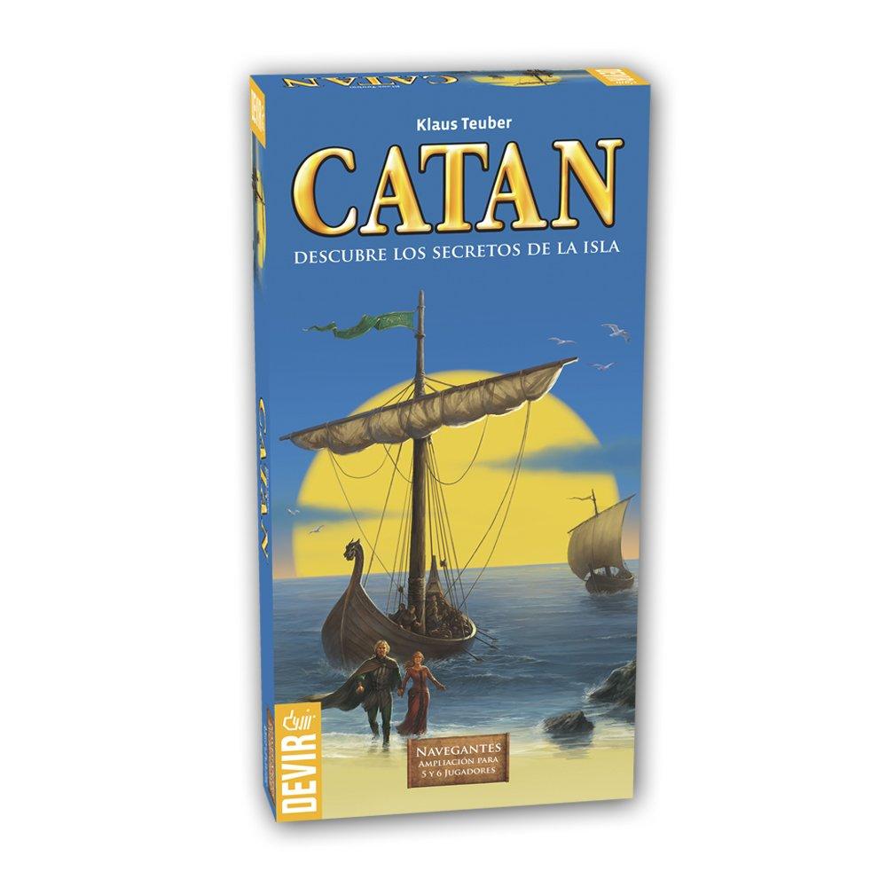 Catan, Navegantes -Ampliación para 5 y 6 jugadoreshttps://amzn.to/2ASObUT