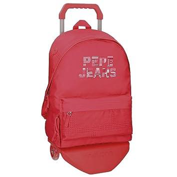 Pepe Jeans 66123M1 Samantha Mochilas escolares, 42 cm, 22.79 litros, Rojo: Amazon.es: Equipaje