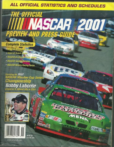 The Official Nascar 2001 Preview and Press Guide