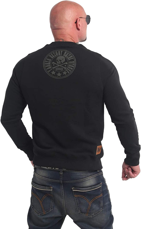 Yakuza Herren Inner Circle Pullover Sweater Schwarz