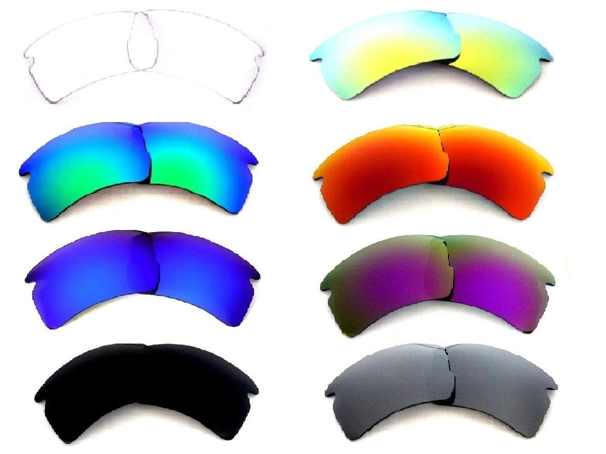 Galaxy Replacement Lenses For Oakley Flak 2.0 XL 8 Colors Pairs Special Offer! by Galaxylense