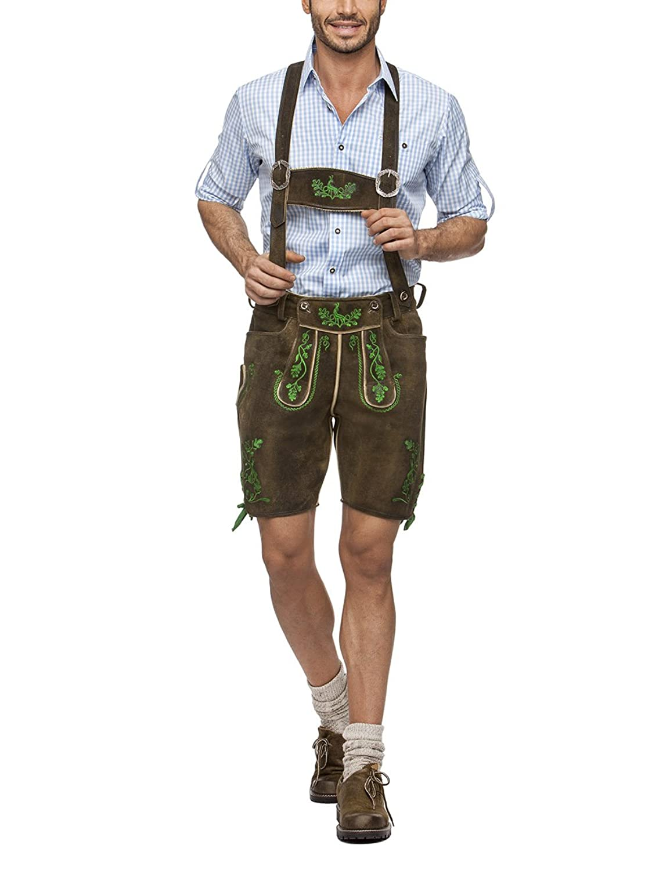 Stockerpoint Herren Skinny Lederhose Hias