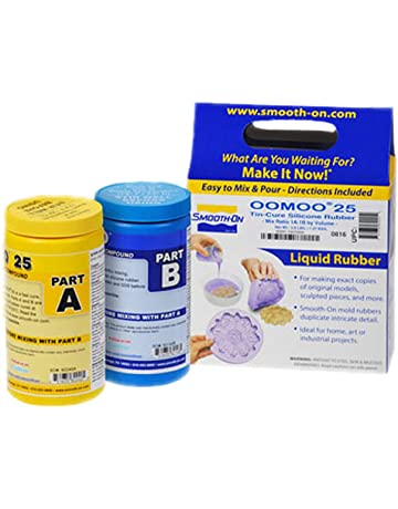 Smooth-On OOMOO 25 - FAST Curing Mold Making Silicone Kit - 2 Pints -