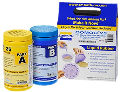 Smooth-on OOMOO 25 – secado rápido – Kit de silicona para hacer molde 2