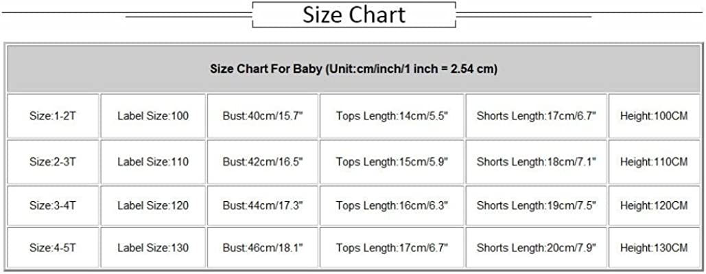Vincent/&July 2Pcs Infant Kids Girls Swimwear Straps Swimsuit Bathing Bikini Outfits 1-5 Years Old