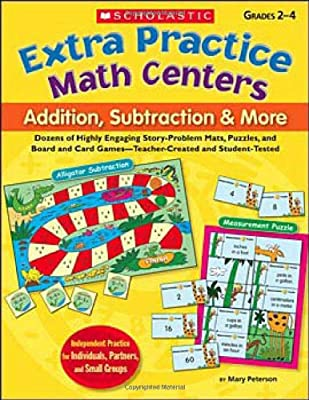 Extra Practice Math Centers: Addition, Subtraction & More: Dozens ...