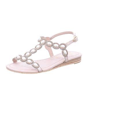 7f1c98af685e Alma en Pena Women s Fashion Sandals Gold Size  8.5 UK  Amazon.co.uk ...
