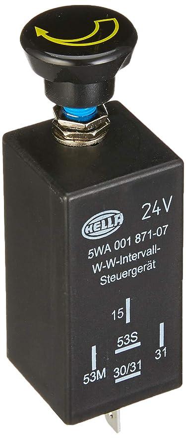 HELLA 5WA 001 871-071 Regulador, intervalo del limpiaparabrisas