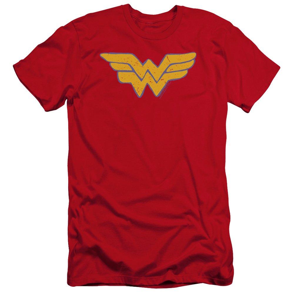 Jla Rough Wonder Premium Adult Slim Fit T-Shirt