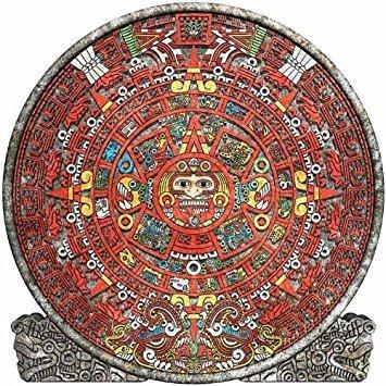 Wallmonkeys calendario Maya–91.4cm de alto x 36' W–despegar y pegar calcomanía de pared