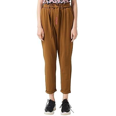 Q/S designed by 41.907.73.2148 Pantalones, Amarillo (Yellow 1598), 46 (Talla del Fabricante: 44) para Mujer: Ropa y accesorios