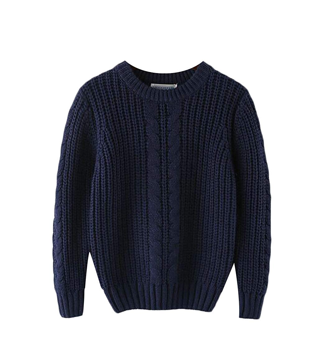 Lutratocro Boys Comfort Thicken Cute Jumper Pullover Knit Sweater