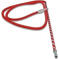The 75'' Laser Washable Hookah Hose - Red