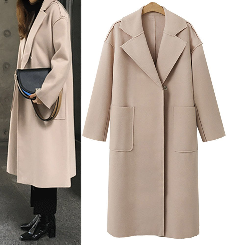 Banstore Women Long Sleeve Coat Winter