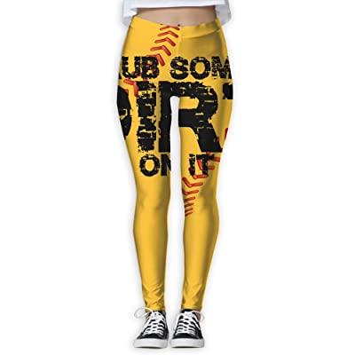 Rubsomedirt Women's Compression Pants Sports Leggings Tights Baselayer Trousers For Yoga&Fitness