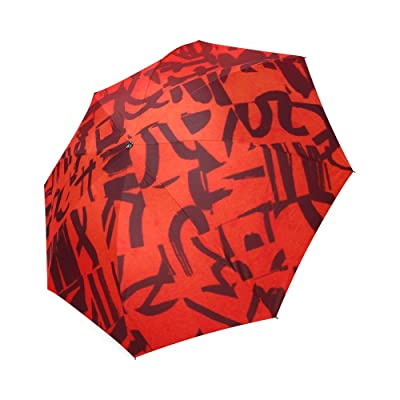 Kitchor Customized All Mixed Up Foldable Umbrella Sun Rain Anti-UV