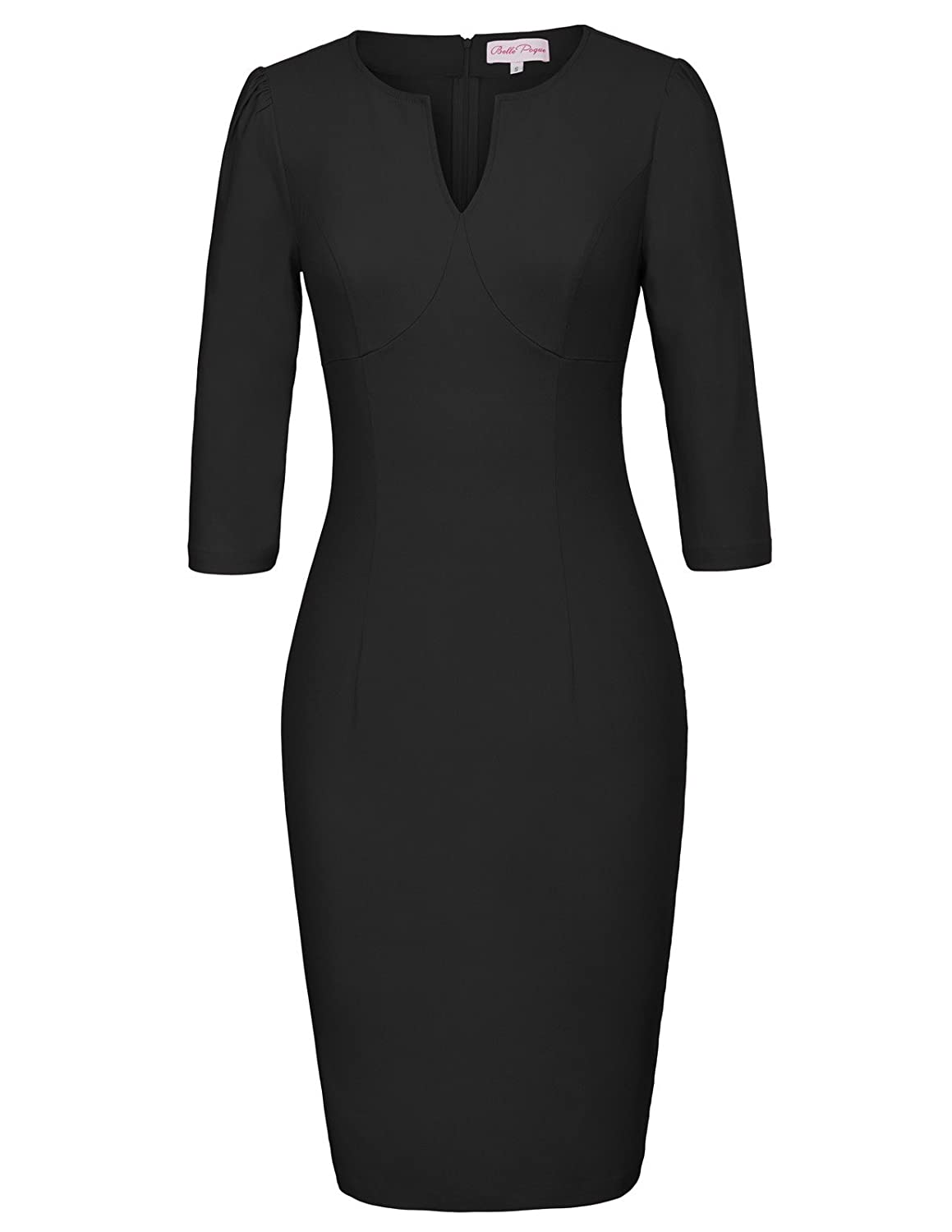 263269fe396 High stretchy hips-wrapped office bodycon pencil dress. Great for Casual