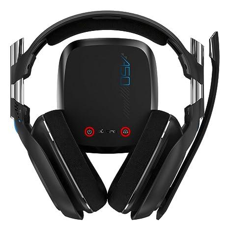 Astro A50 Binaurale Diadema Color blanco auricular con micrófono - Auriculares con micrófono (Alámbrico/