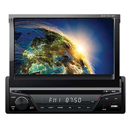 "Gravity - VGR-S710UBT - 7"" Inch Indash Double-Din Touchscreen for car"
