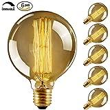 Edison Vintage Glühbirne,led Lampe Warmweiß E27 Retro Antike 6 Stück Beleuchtung