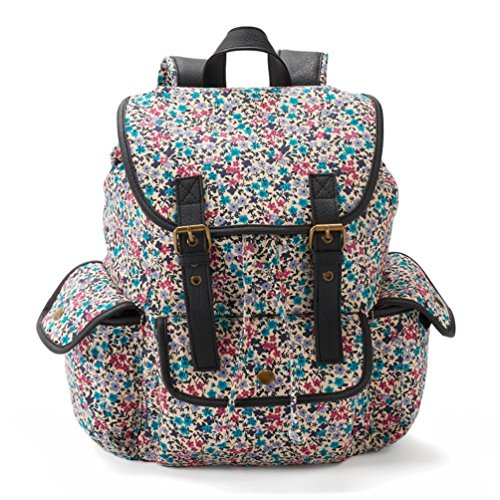 Candie's Anna Ditsy Floral Backpack (Pink/Teal)