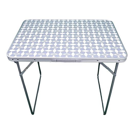 Mesa de Camping Plegable de aluminio-Cocovery19: Amazon.es: Jardín