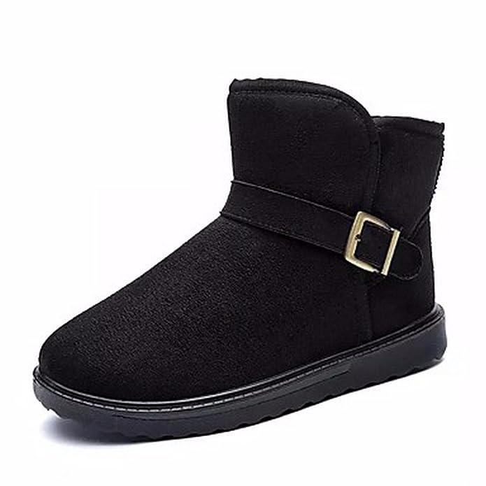 Boots Autunno Scarpe Zhudj Stivali Donna Primavera Comfort Snow WaSwBOwq