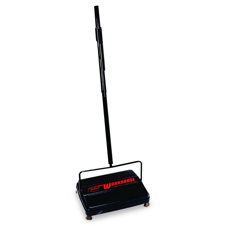 "Franklin Cleaning Technology FRK 39357 Workhorse Carpet Sweeper, 46"", Black"