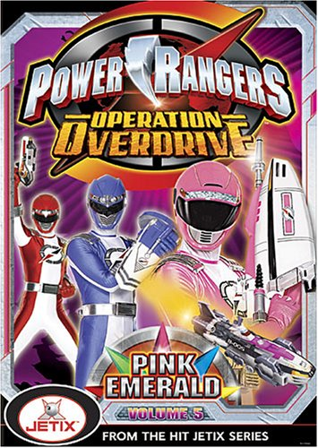 Power Rangers Operation Overdrive - Vol. 5 from Buena Vista Home Video