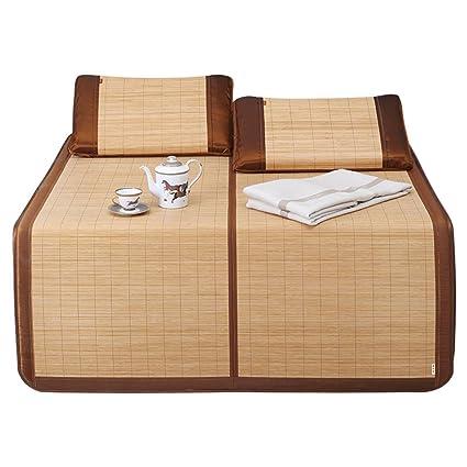 LWFB Colchoneta de verano para dormir / colchoneta de enfriamiento de bambú Colchoneta / plegable de