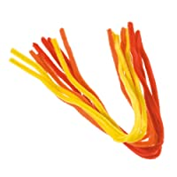 """EFCO """"Yellow, Orange, Red"""" Pipe Cleaners, Wire, Assorted, 8 mm/50 cm, 9-Piece"""