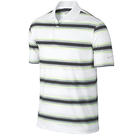 c279e82be Image Unavailable. Image not available for. Color: Nike Golf Tech Ultra Stripe  Polo ...