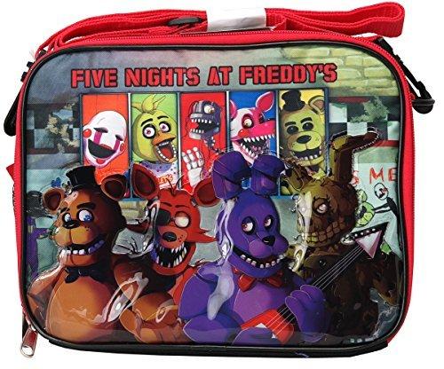Five Nights at Freddy 's Bonnie Foxy chica suave bolsa de almuerzo
