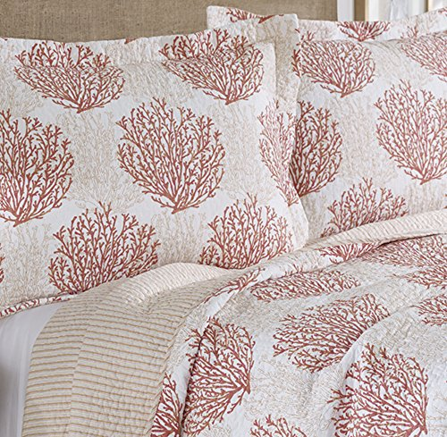 laura ashley coral coast quilt set king buy online in. Black Bedroom Furniture Sets. Home Design Ideas