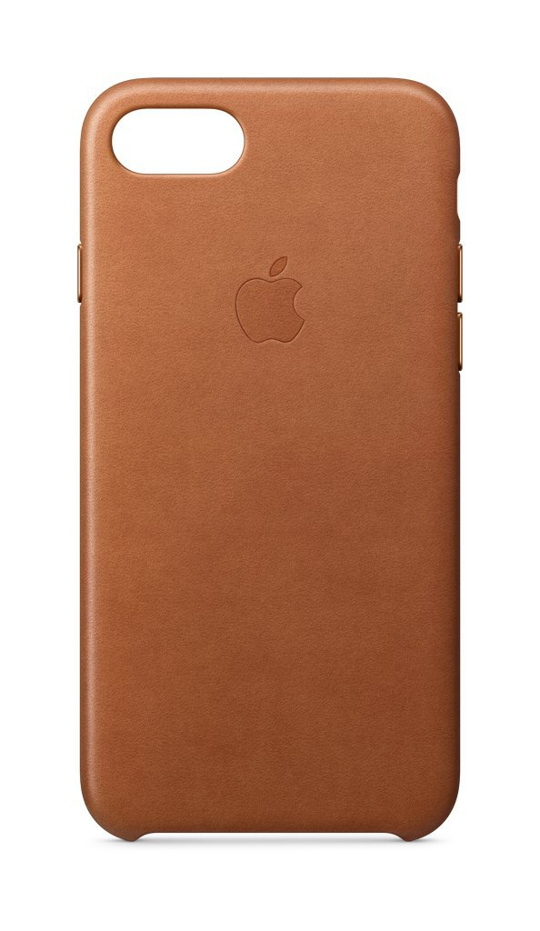 Apple Leather Case (for iPhone 8 / iPhone 7) - Saddle Brown - MQH72ZM/A by Apple