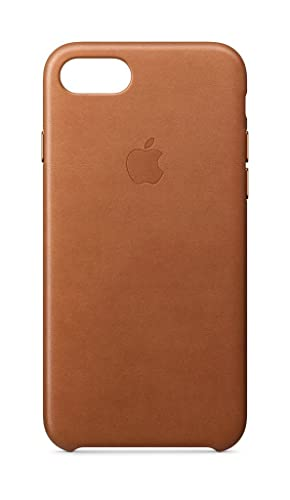 online retailer 74fda 8e7d6 Apple Leather Case (for iPhone 8 / iPhone 7) - Saddle Brown - MQH72ZM/A