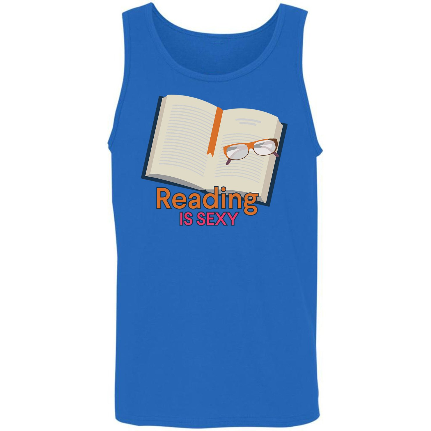 Amazon.com: Reading is Sexy-Gift Idea for Book Lover Reader Tank Top:  Clothing