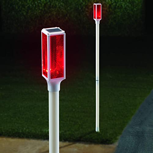 Collections Etc Solar Driveway Marker Lights